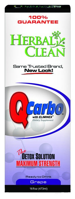 Dietary Supplement - Herbal Clean Q Carbo Grape 16 OZ