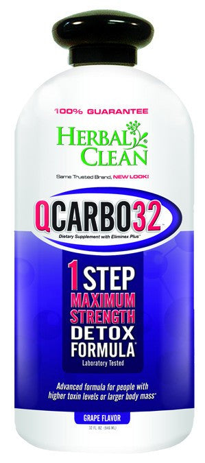 Dietary Supplement - Herbal Clean Q Carbo Grape 32 OZ