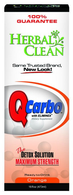 Dietary Supplement - Herbal Clean Q Carbo Orange 16 OZ