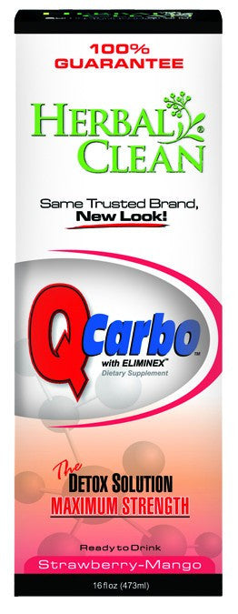 Dietary Supplement - Herbal Clean Q Carbo Strawberry Mango 16 OZ