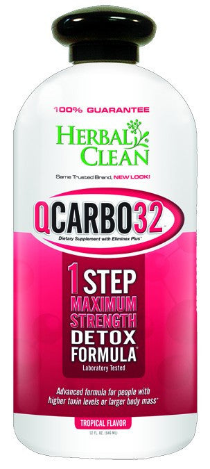 Dietary Supplement - Herbal Clean Q Carbo Tropical 32 OZ