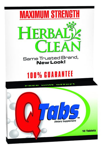 Dietary Supplement - Herbal Clean Quick Tabs 10 TAB