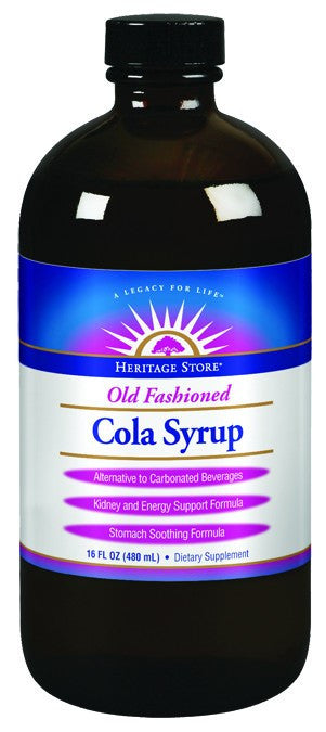 Dietary Supplement - Heritage Products Cola Syrup - 16 OZ