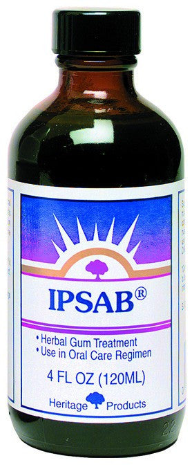 Dietary Supplement - Heritage Products Ipsab Herbal Gum Treatment 4 OZ