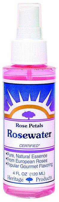 Dietary Supplement - Heritage Products Rosewater 4 OZ