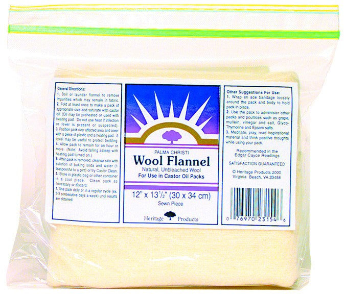 Dietary Supplement - Heritage Products Wool Flannel 12x27