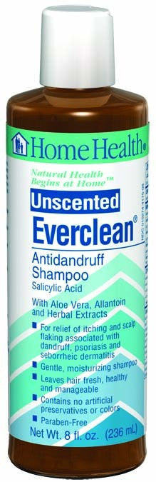 Dietary Supplement - Home Health Everclean Unscented Shampoo 8 OZ