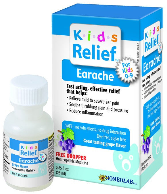 Dietary Supplement - HomeoLab USA Kids Relief Earache 25 ML