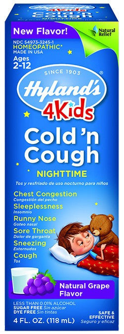 Dietary Supplement - Hylands 4 Kids Cold 'n Cough Nighttime 4 OZ