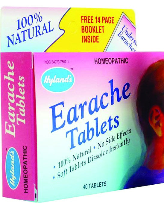 Dietary Supplement - Hylands Earache Tabs 40 TAB