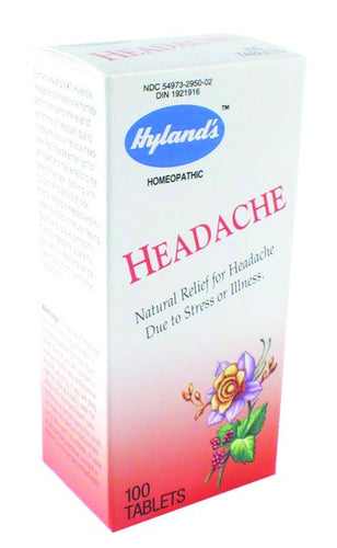 Dietary Supplement - Hylands Headache Tabs 100 TAB