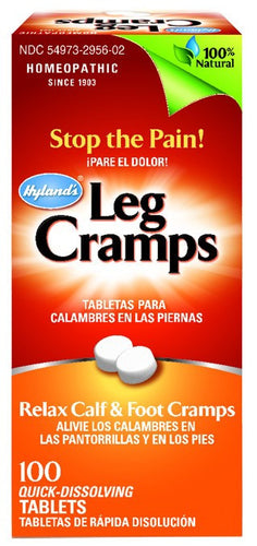Dietary Supplement - Hylands Leg Cramp 100 TAB