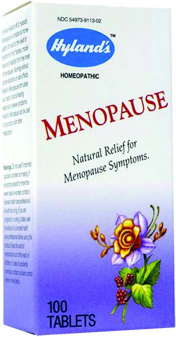 Dietary Supplement - Hylands MenoPause 100 TAB