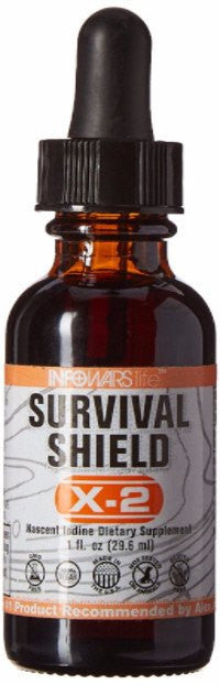 Dietary Supplement - Infowars Life Survival Shield X-2 Nascent Iodine, 1fl. Oz.