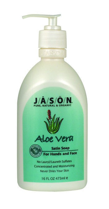 Dietary Supplement - Jason Aloe Liquid Soap W/Pump 16 OZ