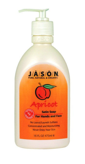 Dietary Supplement - Jason Apricot Soap W/Pump 16 OZ
