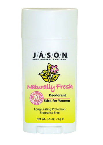 Dietary Supplement - Jason Clear Unscented Women's Deodorant 2.5 OZ