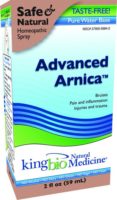 Dietary Supplement - King Bio Advanced Arnica 2 OZ