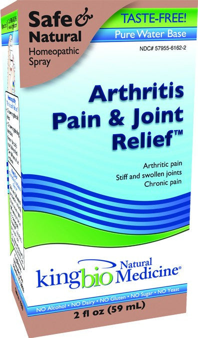 Dietary Supplement - King Bio Arthritis & Joint Relief 2 OZ