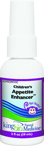 Dietary Supplement - King Bio Children's Appetite Enhancer 2 OZ