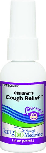 Dietary Supplement - King Bio Children's Cough 2 OZ