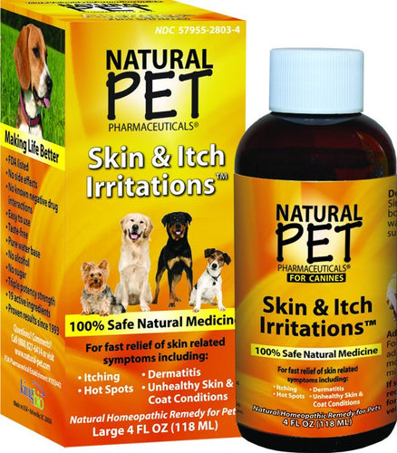 Dietary Supplement - King Bio Dog Skin & Itch 4 OZ
