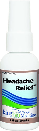 Dietary Supplement - King Bio Headache Relief 2 OZ