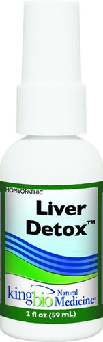 Dietary Supplement - King Bio Liver Detox 2 OZ