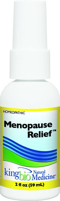 Dietary Supplement - King Bio Menopause Relief 2 OZ