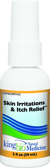 Dietary Supplement - King Bio Skin Irritations & Itch Relief 2 OZ