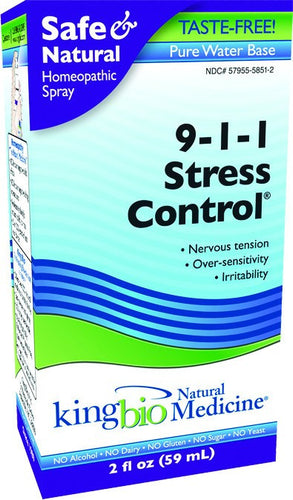 Dietary Supplement - King Bio Stress Control 2 OZ