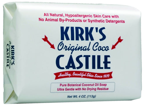 Dietary Supplement - Kirks Natural Castille Bar Soap 4 OZ