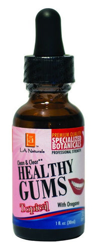 Dietary Supplement - LA Naturals Clear & Clean Healthy Gums 1 OZ