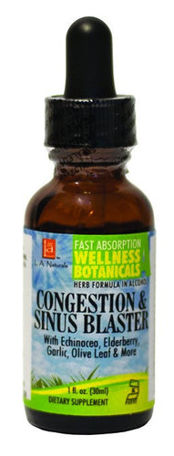 Dietary Supplement - LA Naturals Congestion & Sinus Blaster Drop 1 OZ