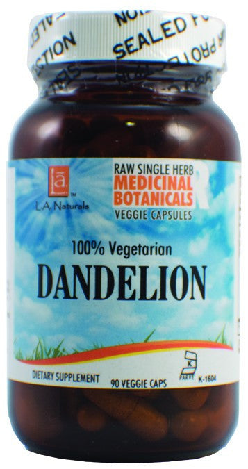 Dietary Supplement - LA Naturals Dandelion Raw Herb 90 VGC