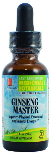 Dietary Supplement - LA Naturals Ginseng Master 1 OZ