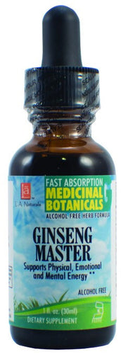 Dietary Supplement - LA Naturals Ginseng Master Glycerine 1 OZ