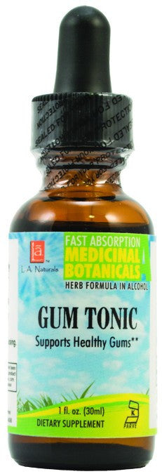 Dietary Supplement - LA Naturals Gum Tonic 1 OZ