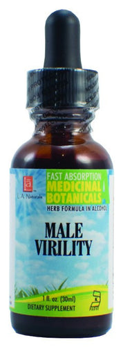 Dietary Supplement - LA Naturals Male Virility 1 OZ