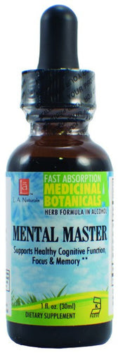 Dietary Supplement - LA Naturals Mental Master 1 OZ