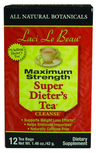 Dietary Supplement - Laci Le Beau All Natural Botanical Maximum Tea 12 CT