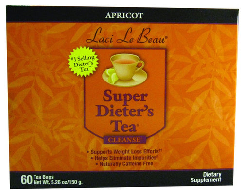 Dietary Supplement - Laci Le Beau Apricot Tea 60 CT