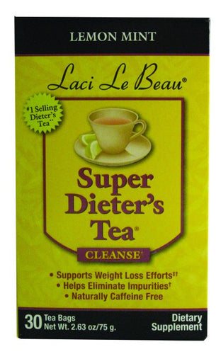 Dietary Supplement - Laci Le Beau Lemon Mint Tea 30 CT