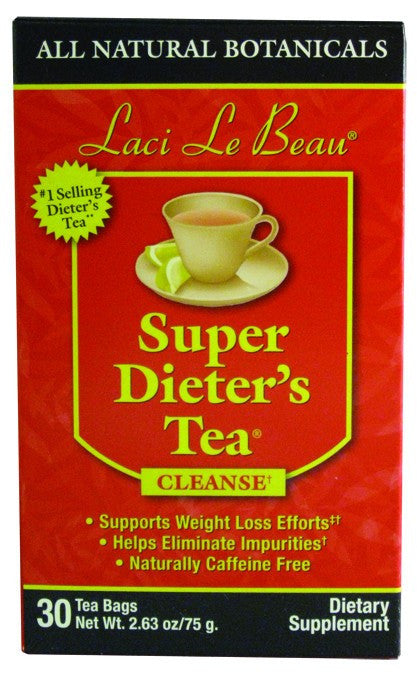 Dietary Supplement - Laci Le Beau Original Tea 30 CT