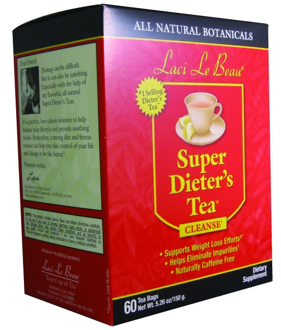 Dietary Supplement - Laci Le Beau Original Tea 60 CT