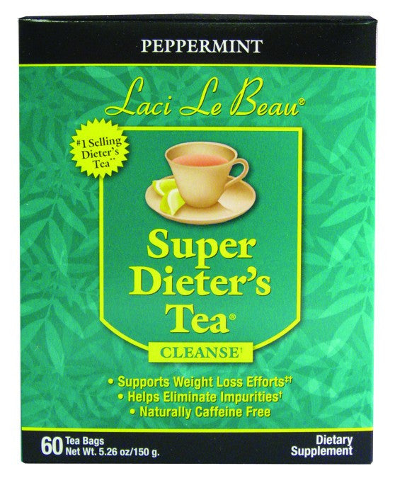 Dietary Supplement - Laci Le Beau Peppermint Tea 60 CT