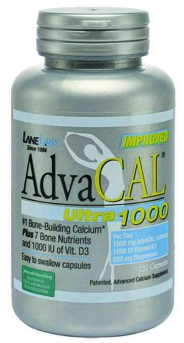 Dietary Supplement - Lane Labs Advacal Ultra 1000 120 CAP