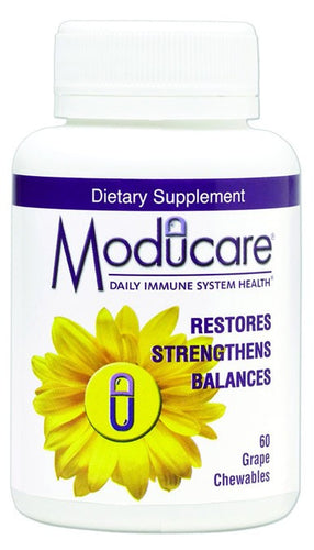 Dietary Supplement - Moducare Immune Grape Chewable 60 Count