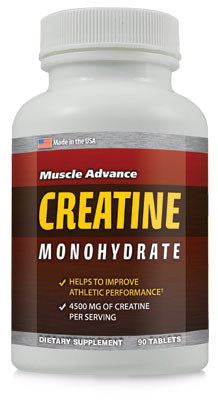 Dietary Supplement - Muscle Advance Creatine Monohydrate Muscle Builder