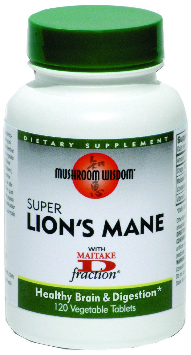 Dietary Supplement - Mushroom Wisdom Super Lion's Mane 120 TAB